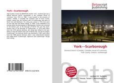 Bookcover of York—Scarborough