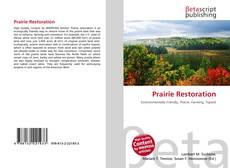 Couverture de Prairie Restoration