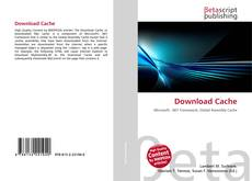 Bookcover of Download Cache