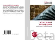 Robert Altman (Photographer)的封面