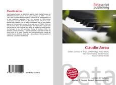 Capa do livro de Claudio Arrau