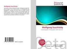 Buchcover von Wolfgang Suschitzky