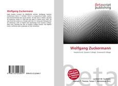 Buchcover von Wolfgang Zuckermann