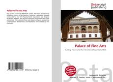 Bookcover of Palace of Fine Arts
