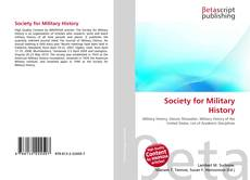 Bookcover of Society for Military History