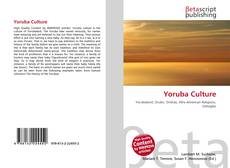 Couverture de Yoruba Culture
