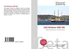 Buchcover von USS McKean (DD-90)