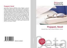 Capa do livro de Prajapati, Novel