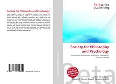 Borítókép a  Society for Philosophy and Psychology - hoz