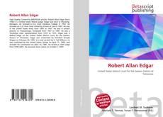 Buchcover von Robert Allan Edgar