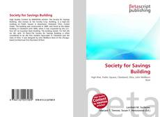 Bookcover of Society for Savings Building
