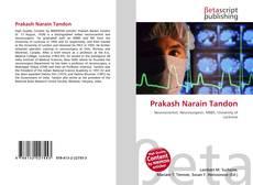 Couverture de Prakash Narain Tandon