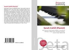 Portada del libro de Sarah Cahill (Pianist)
