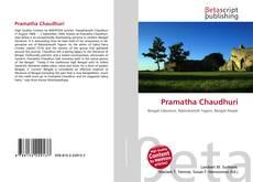 Capa do livro de Pramatha Chaudhuri