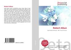 Bookcover of Robert Alban
