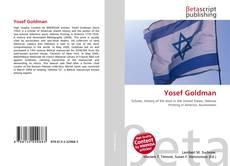 Обложка Yosef Goldman