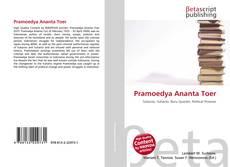 Buchcover von Pramoedya Ananta Toer