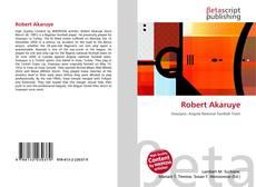 Bookcover of Robert Akaruye