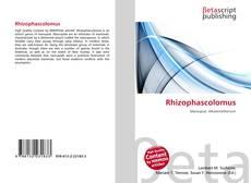 Обложка Rhizophascolomus