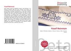 Bookcover of Yosef Reinman