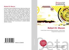 Bookcover of Robert B. Macon