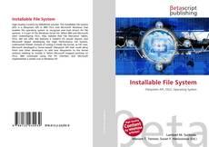 Borítókép a  Installable File System - hoz