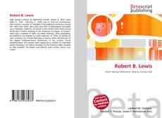 Bookcover of Robert B. Lewis