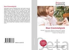 Copertina di Duo Crommelynck