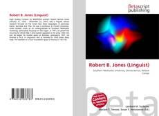 Bookcover of Robert B. Jones (Linguist)
