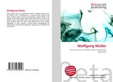 Buchcover von Wolfgang Müller