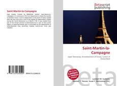 Обложка Saint-Martin-la-Campagne