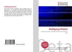 Buchcover von Wolfgang Pickert