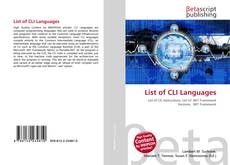 Portada del libro de List of CLI Languages