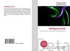 Couverture de Wolfgang Preiss