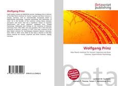 Buchcover von Wolfgang Prinz