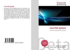 Borítókép a  Live File System - hoz