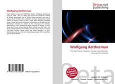 Buchcover von Wolfgang Reitherman