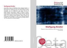 Buchcover von Wolfgang Rindler