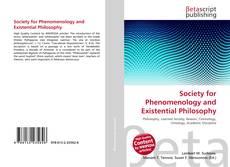 Borítókép a  Society for Phenomenology and Existential Philosophy - hoz