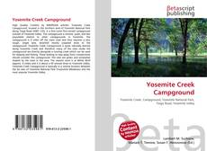 Bookcover of Yosemite Creek Campground