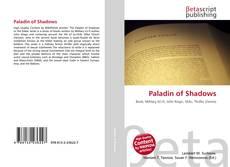 Portada del libro de Paladin of Shadows