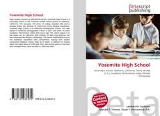 Bookcover of Yosemite High School