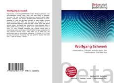 Buchcover von Wolfgang Schwerk
