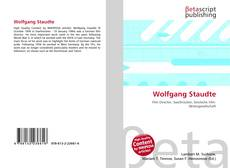 Bookcover of Wolfgang Staudte
