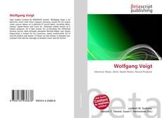 Buchcover von Wolfgang Voigt