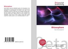 Bookcover of Rhizosphere