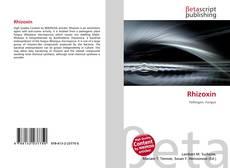 Buchcover von Rhizoxin