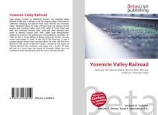 Bookcover of Yosemite Valley Railroad