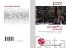 Yosemite West, California kitap kapağı
