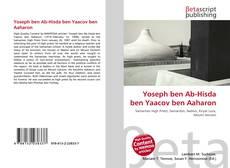 Couverture de Yoseph ben Ab-Hisda ben Yaacov ben Aaharon